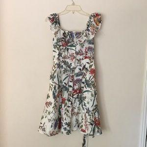 Zara Floral Sun dress NWT